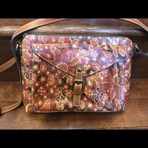 NEW Patricia Nash Italian Leather Crossbody Purse